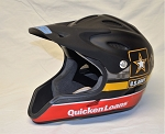 Ryan Newman ARMY Quicken Loans Stewart-Haas Racing Race Used NASCAR Pit Crew Helmet. Awesome