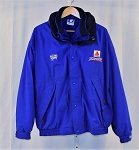 Vintage Roush Racing Citgo Jeff Burton Team Issue GORTEX Coat NASCAR Med Blue XL