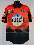 #20 Kevin Harvick Busch National Forest 2020 Daytona NASCAR Pit Crew Shirt. NEW! Sz LARGE