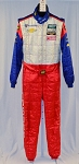 OMP FIA rated Chevy IMSA ROLEX Racing DRIVER Worn Suit . Robin Liddell  #5608