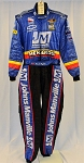 Mark Taylor Menards Indycar PUMA FIA Rated DRIVER WORN Racing Suit. #6589 c44/w36/i32