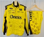 Richard Childress Racing Cheerios Sparco SFI-5 NASCAR Crew Fire Suit. #6638 c50/w42/i33