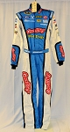Aric Almirola Petty Gwaltney Hot Dogs Sparco SFI-5 Race Used NASCAR DRIVER SUIT #6681 c34/w32/i34