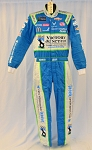 Bubba Wallace Petty Victory Junction Gang Race Used NASCAR DRIVER SUIT #6687 c38/w34/i32