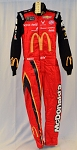Bubba Wallace Richard Petty McDonald's Monster 2019 Race Used NASCAR DRIVER SUIT #6689
