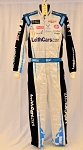 Bubba Wallace Richard Petty Leithcars.com Monster 2019 Race Used NASCAR DRIVER SUIT #6690 c38/w34/i33