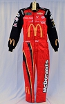 Bubba Wallace Petty McDonald's Monster 2019 Race Used Sparco SFI-5 NASCAR DRIVER SUIT #6694 c38/w34/i32