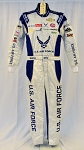 2020 Bubba Wallace Air Force Coke Photo Shoot NASCAR DRIVER SUIT. RARE #6697