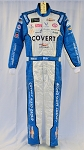 Bubba Wallace Richard Petty COVERT Sparco SFI-5 Race Used NASCAR DRIVER Suit #6698 c38/w34/i32