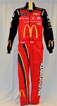 Bubba Wallace Richard Petty McDonald's Monster 2019 Race Used NASCAR DRIVER SUIT #6701 c38/w34/i32