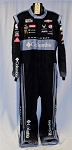 2020 Bubba Wallace Petty Columbia Sparco SFI 3.4/5 Race Used NASCAR Pit Crew Suit #6717 c50/w48/i37