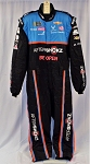 Bubba Wallace Aftershokz Sparco SFI-5 Race Used NASCAR Pit Crew Fire Suit #6731 c44/w38/i33