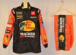 Martin Truex Bass Pro Shops Simpson SFI-1 SINGLE LAYER NASCAR Firesuit. #6761 c46/w38/i31