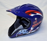 Richard Petty Go Bowling Race Used Simpson Pit crew helmet. #2 SIZE LARGE