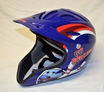 Richard Petty Go Bowling Race Used Simpson Pit crew helmet. #3 SIZE LARGE