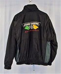 Vintage John Deere Chad Little Roush Racing NASCAR Team Issued Coat. LARGE