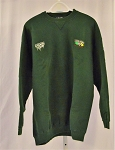 John Deere Chad Little Roush Team issue NASCAR race used Sweatshirt XL