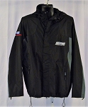 Roush Fenway Racing Team Issued NASCAR Hooded Rain Coat. XL
