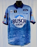 #23 2020 Kevin Harvick Busch Light NASCAR Pit Crew Shirt. NEW. Sz LARGE