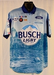 #26 Kevin Harvick 2020 Busch Light Beer NASCAR Pit Crew Shirt. NEW! Sz LARGE