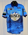 #28 Kevin Harvick 2020 Busch Waves NASCAR Pit Crew Shirt. NEW! Sz LARGE