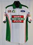#29 Kevin Harvick 2020 Hunt Brothers White NASCAR Pit Crew Shirt. NEW! Sz LARGE