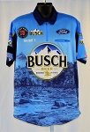 #30 Kevin Harvick 2019 Busch NASCAR Pit Crew Shirt. NEW! Sz LARGE