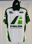 #33 Chase Briscoe Fields High Point 2020 NASCAR Pit Crew Shirt and Hat. NEW. LARGE