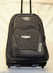 Stewart-Haas Racing Race Used NASCAR Team Issued Ogio Roller Duffle Bag #2